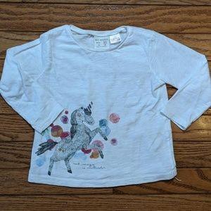 Unicorn Shirt Magic Multicolor Zara
